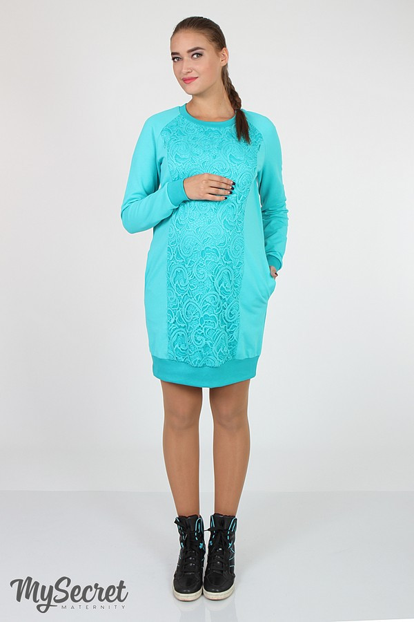 Платье для беременных и кормящих  Margarita DR-36.152