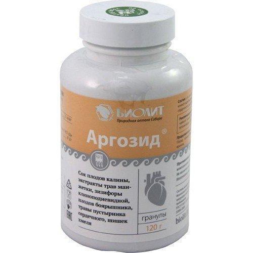 Аргозид Арго (для сердца, сосудов, гипертония, вегетососудистая дистония, атеросклероз, инфаркт, давление)