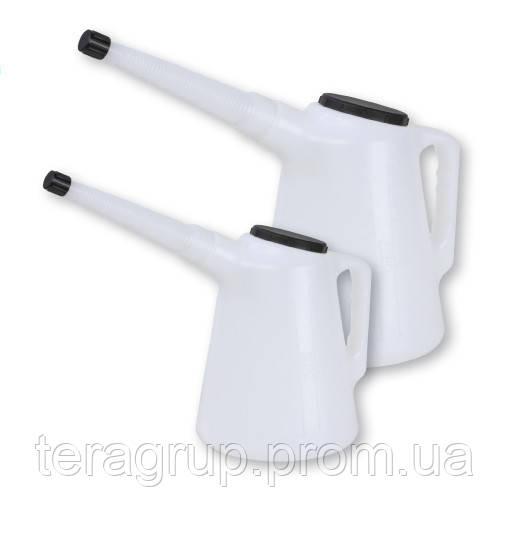 Пластиковая емкость (лейка) 1 л с гибким носиком и крышкой GROZ 41900 - ГК«ТЕХНОСФЕРА» в Киеве