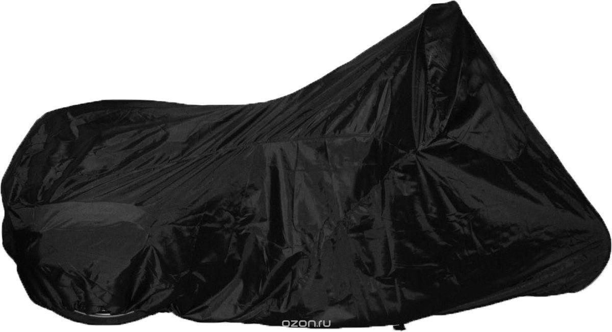 Моточохол MotoSkarb Slim Black розмір XXL (260х100х150 см)