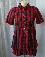 Платье женское туника хлопок мини бренд Tsega р.42