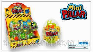 Яйца пластик мини-пиллер (12шт) 10гр