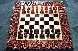 """Шахматы + нарды + шашки """" Гладиаторы """" + шкатулка для фигур, фото 3"""