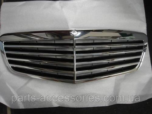 Mercedes S W221 рестайлинг 2009-14 решётка радиатора новая оригинал