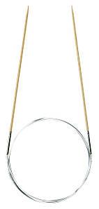 """Бамбуковые круговые спицы для вязания """"Takumi"""" Clover 80 см/2 мм"""