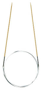"""Спиці """"Takumi"""" Clover   кругові   бамбукові   80 см   2 мм"""