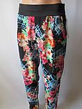 Красивые летние штаны с широким поясом., фото 2
