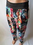 Красивые летние штаны с широким поясом., фото 3