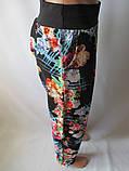 Красивые летние штаны с широким поясом., фото 4