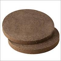 Круг войлочный полировальный полугрубошерстный 420 мм h=40мм темно-серый (Вознесенск) точильный, шлифовальный