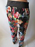 Красивые летние штаны с широким поясом., фото 5