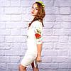 """Женское  платье с вышивкой """"Украинка"""", фото 3"""