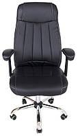 Кресло Фабио хром М-2 черный (Ричман)