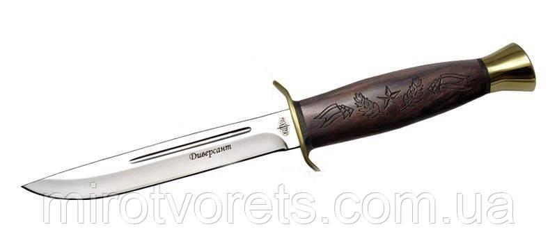Нож с фиксированным клинком Витязь Диверсант