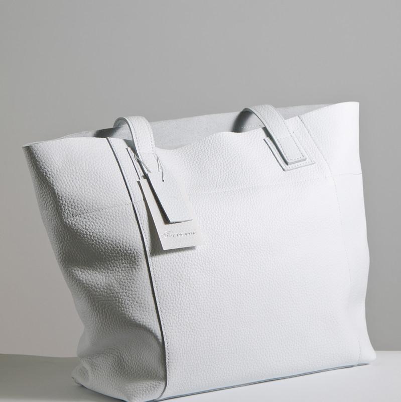 Женская сумка кожаная 03 белый флотар 01030102