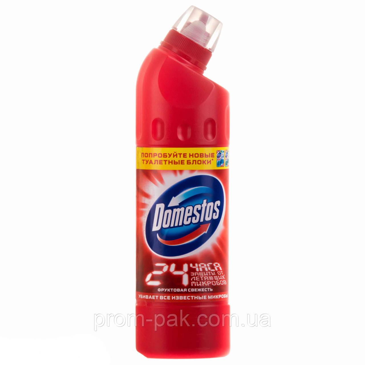Моющее средство  для унитазов Domestos 500 мл фруктовая свежесть