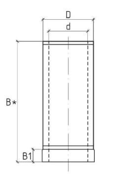 Схема дымоходной сендвич трубы