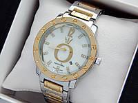 Жіночі кварцові наручні годинники Пандора (Pandora) комбіновані, срібло-золото - код 1551, фото 1