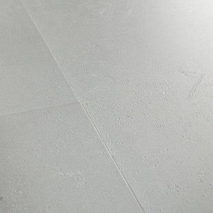 Вініловий підлогу Quick Step LIVYN AMBIENT Click Plus 33 клас Мінімальний світло-сірий AMCP40139
