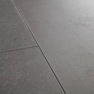 Вініловий підлогу Quick Step LIVYN AMBIENT Click Plus 33 клас Яскравий помірно-сірий AMCP40138