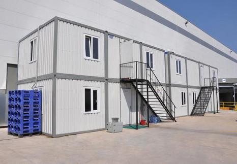Блок-модульные здания