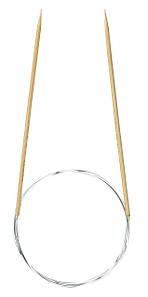"""Бамбуковые круговые спицы для вязания """"Takumi"""" Clover 80 см/3 мм"""