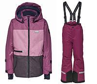 Зимний комбинезонLEGOWear(Дания) для девочки 104, 110, 116, 122, 128, 134 см мембранный раздельный, фото 1