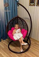 """Детское подвесное кресло """"Кидс"""" (шоколад)"""