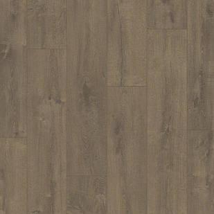 Виниловый пол Quick Step LIVYN BALANCE Glue Plus 33кл Дуб бархатный, коричневый BAGP40160