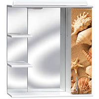 Зеркало для ванной с розеткой З-02