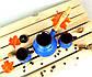 Турка Синяя керамическая с деревянной ручкой и чашками 350 мл, фото 3