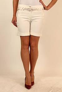 Теплые белые шорты 42-48 р