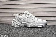 Кроссовки мужские Nike Tekno All White. ТОП КАЧЕСТВО!!! Реплика класса люкс (ААА+), фото 1