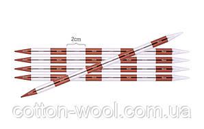Спиці шкарпеткові KnitPro Smartstix 20 см №2