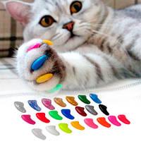 Когти с кристаллами для кошек люминисцентные M /4-6кг