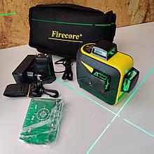 FIRECORE F93T-XG 12 линий 3D зеленый лазерный уровень/нивелир