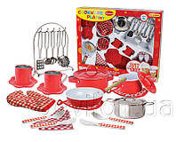 Набор посуды из нерж. Стали, арт. CH51015-RED