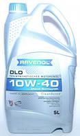 Масло моторное полусинтетика RAVENOL (равенол) DLO SAE 10W-40 5л.