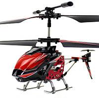 Вертолёт на радиоуправлении 3-к WL Toys S929 с автопилотом (красный), фото 1