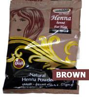 Натуральная пакистанская хна без химии Brown (Коричневая) 25 g, фото 1
