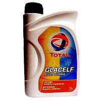 Антифриз TOTAL GLACELF AUTO SUPRA концентрат(красный) 1л