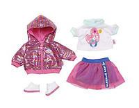 Комплект куклы Беби Борн Baby Born городской стиль Делюкс Deluxe Zapf Creation 827147, фото 1