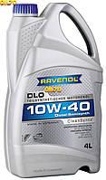 Масло моторное полусинтетика RAVENOL (равенол) DLO SAE 10W-40 4л.