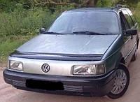 Дефлектор на капот (мухобойки)  Volkswagen Passat (B3) 1988-1993