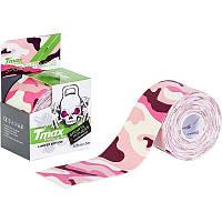 Кинезио тейп Tmax Tape 5см х 5м sport&fitness(розовый)