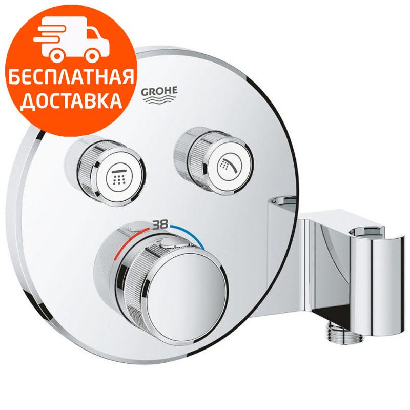 Термостат для скрытого монтажа Grohe Grohtherm SmartControl 29120000 хром