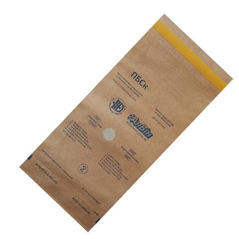 Крафт пакеты 300x450 для стерилизации с индикаторами Алвин ПБСК, для паровой, воздушной, этилен (100 шт.)