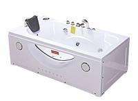 Гидромассажная ванна акриловая Iris TLP-633-G, 1680х850х660 мм