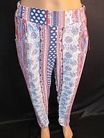 Модные женские штаны из штапеля.