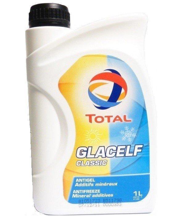 Антифриз TOTAL Glacelf Classic G11 концентрат(синий) 1л